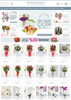 çiçekçi web tasarımı